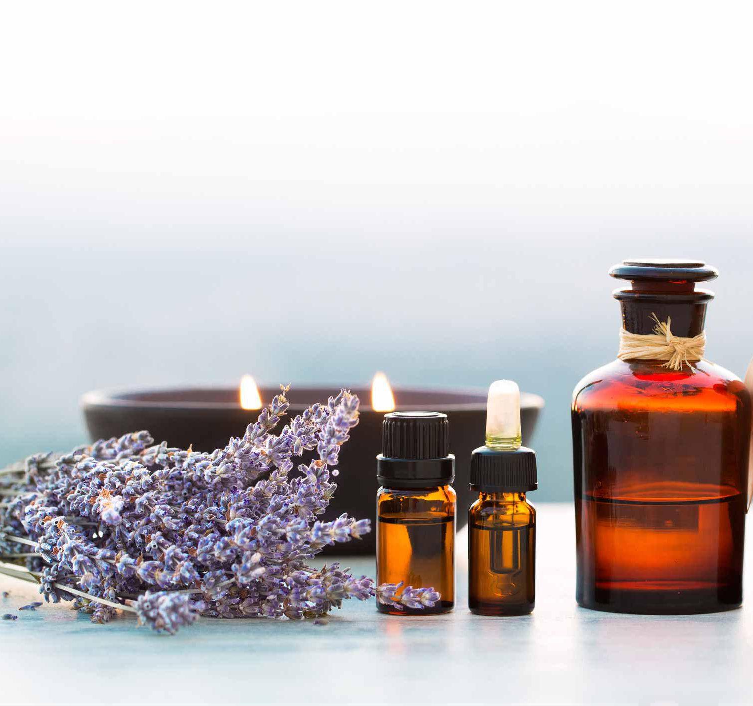 Genießen Sie unsere Aromaölmassage