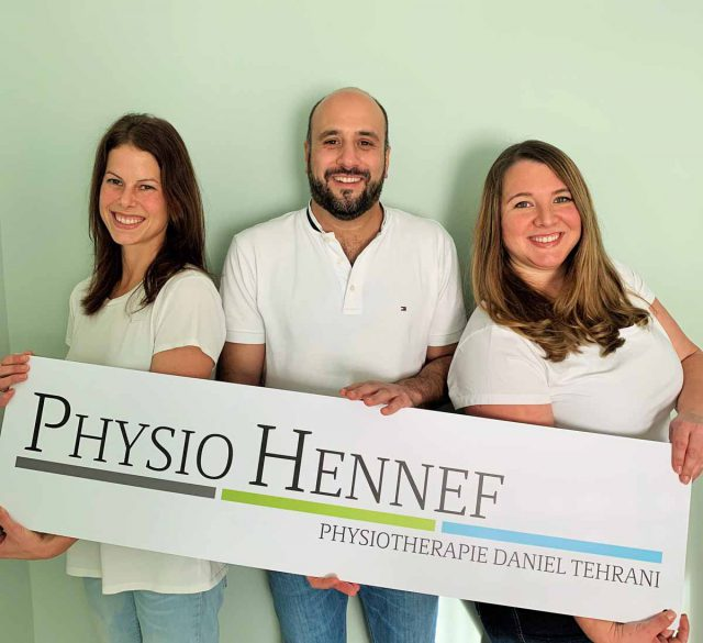 Physiotherapeuten der Praxis PhysioHennef